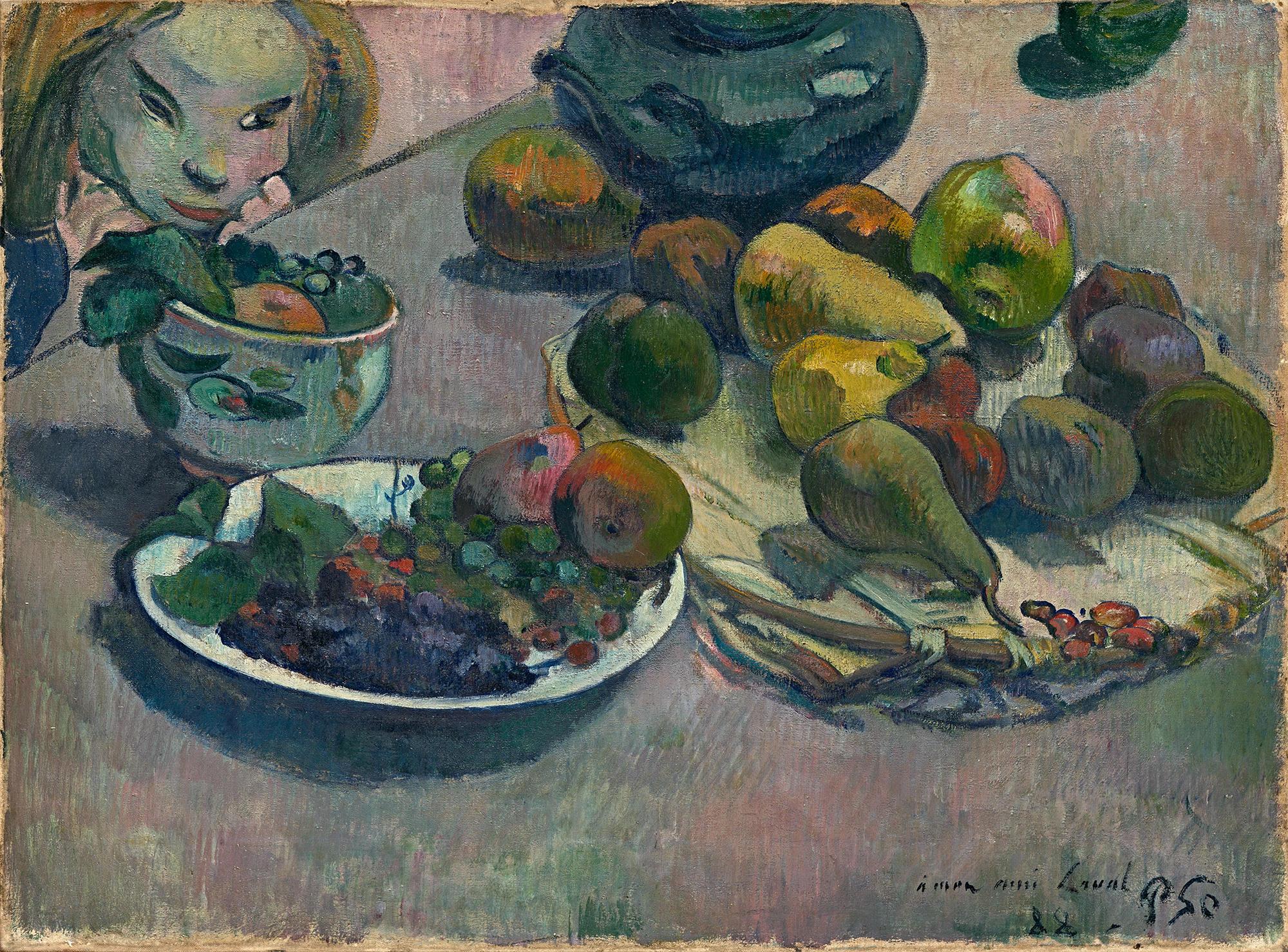 Картинки по запросу гоген фрукты