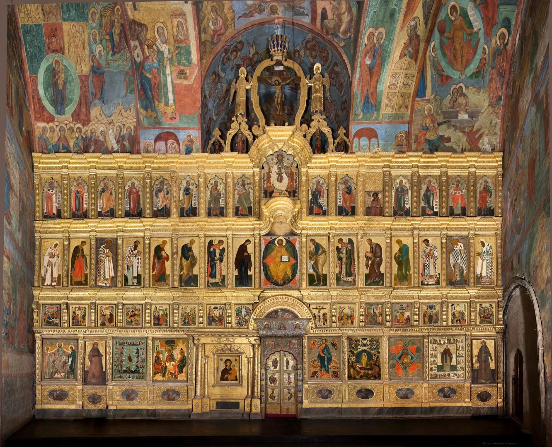 иконостас успенского собора владимира фото собственном примере показал