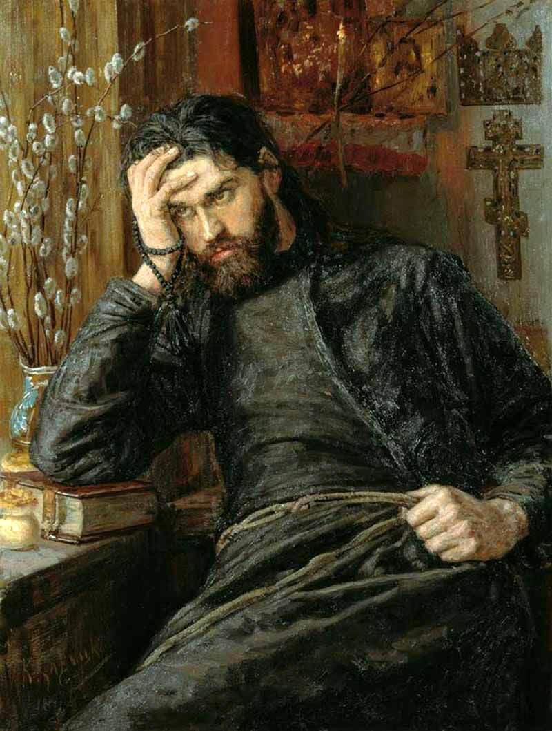 """Инок. Савицкий К.А.. """"Избранные картины галереи им. К.А. Савицкого ..."""